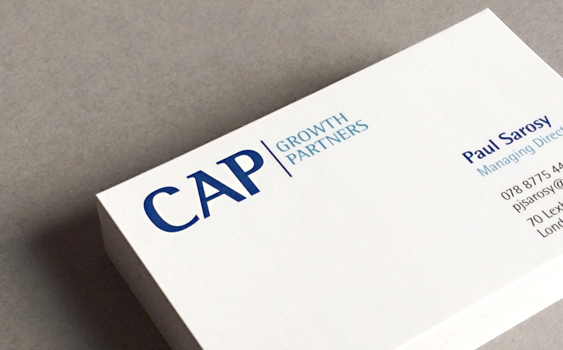 CAP business card