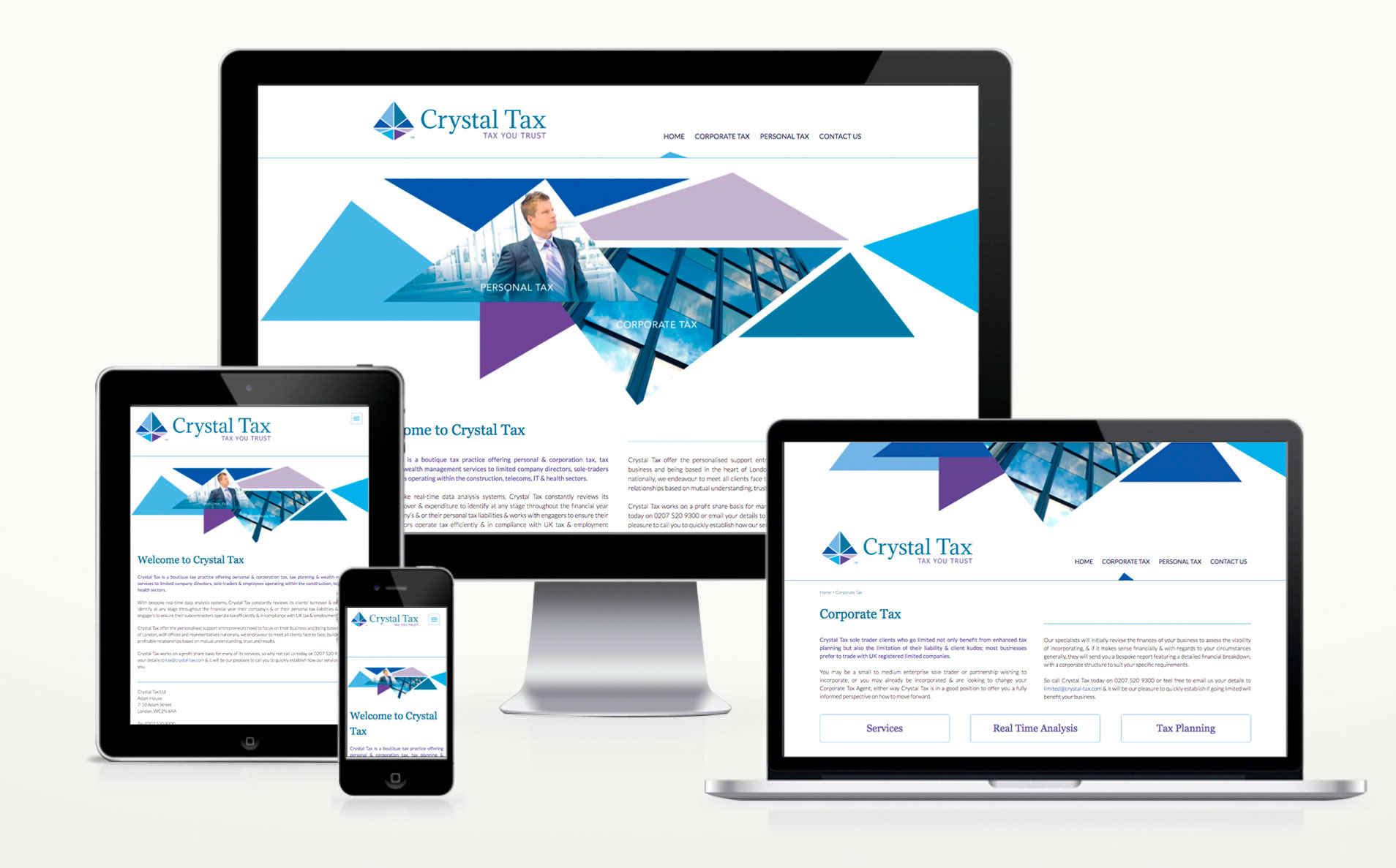 Crystal-Tax-website-design