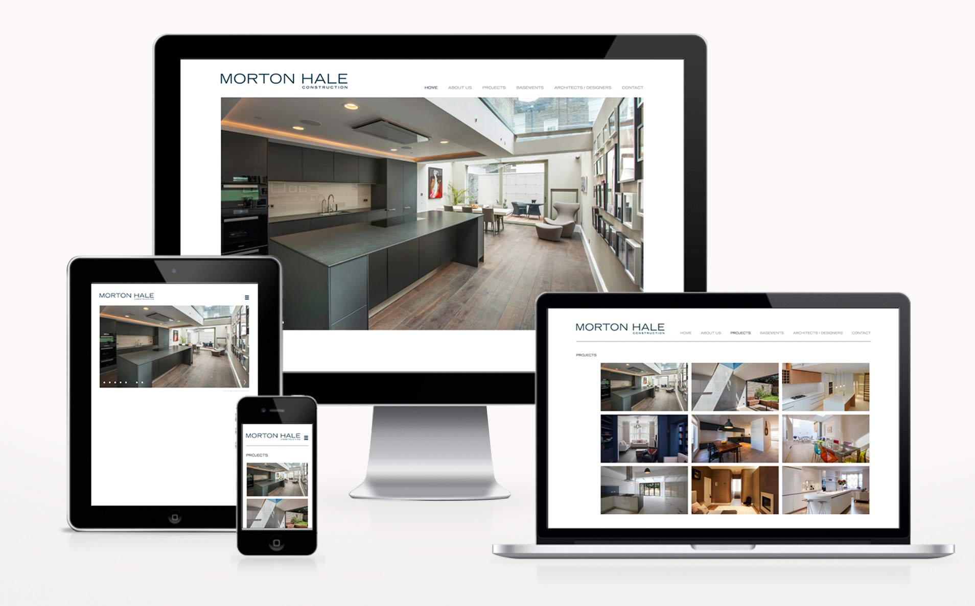 Morton Hale-website-design